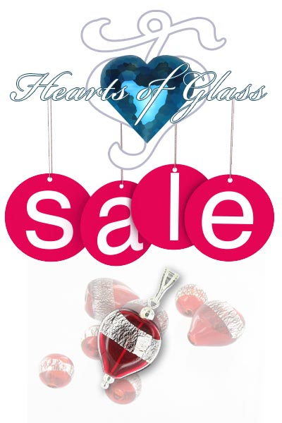 Hearts of Glass January Sale Now On!