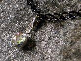 Clear AB Crystal Bracelet Charm