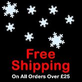 Free Shipping on all orders over £25