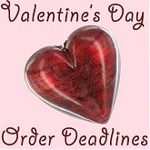 Valentines shipping dates logo